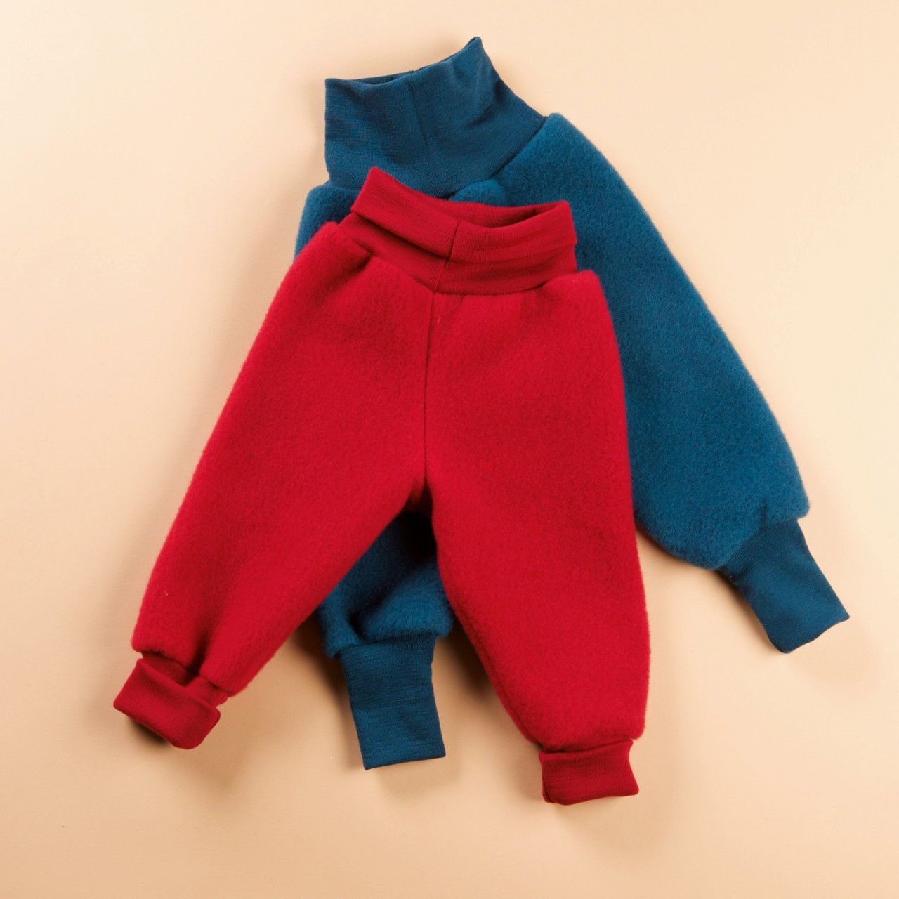 975180d14 Engel Organic Wool Fleece Pants with High Waistband - Little Spruce ...