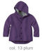 Disana Organic Boiled Wool Jacket Color: Plum