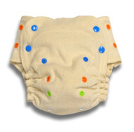 BabyKicks Organic Cotton/ Hemp Fitted Diaper