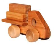 Little Wooden Log Hauler Truck
