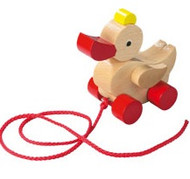 HABA Wooden Duck Pull Toy