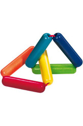 HABA Triangle Wooden Rattle