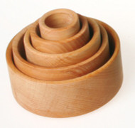Wooden Nesting Bowls, Natural