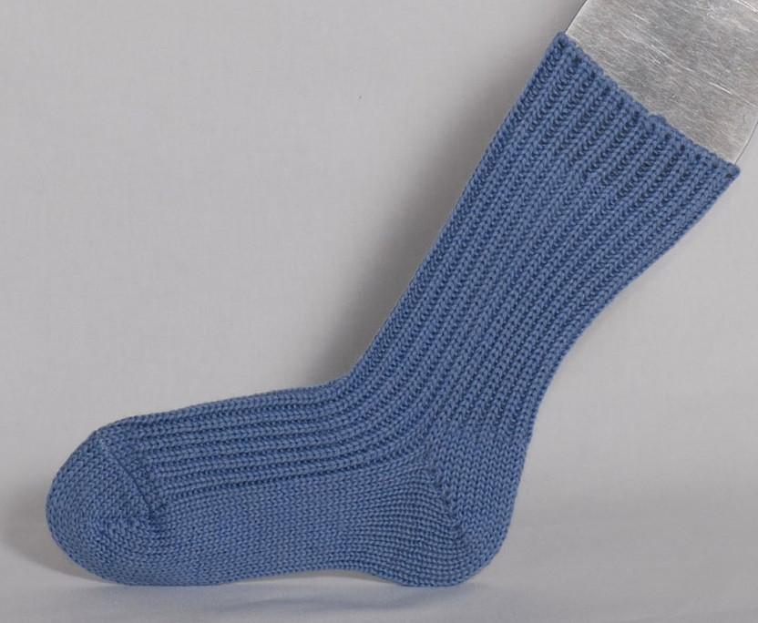 Hirsch Natur Chunky Organic Wool Knitted Socks Little Spruce Organics