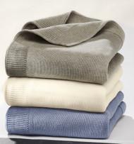 Disana Organic Cotton Knitted Baby Blanket