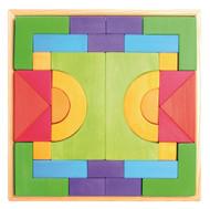 Wooden Basic Building Block Set by Grimm's Spiel & Holz (30 pcs)
