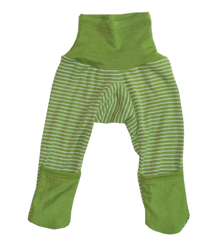 a5960e9e8 Cosilana Organic Wool  Silk Baby Pants with Optional Feet - Little ...