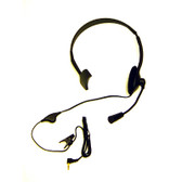 AV / DV Basic Corded Headset with Boom Mic