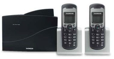 THOMSON 2 LINE DECT WITH 2 X D50 CORDLESS HANDSETS