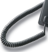 Curly Cord to suit Aristel DV/AV Series Handsets -  Charcoal