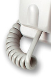 "Curly Cord to suit Aristel DV/AV ""50"" and ""10"" Series Handsets -  White"