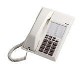 413MWW  - Message Wait SLT Phone - White