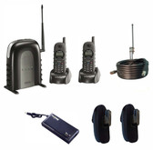SN902 STARTER PACK WITH 2X H/SETS, POUCHES AND EXTERNAL ANTENNA KIT & A TANK UPS