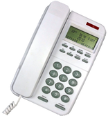 CL110 Big Button Caller ID Phone  WHITE