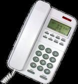 CL110 Big Button Caller ID Phone  WHITE