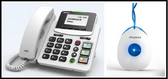 Akuvox Big Button IP Phone with Emergency Pendant