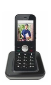 "WIFI Genius ""PLUS"" -  SIP Video Cordless Phone w Belt Clip and Larger Battery AND Bonus Pouch valued at $25"