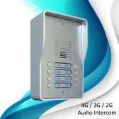 AN1808 08 4G LTE Door Intercom up to 8 apartments for ALL NETWORKS