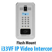 FANVIL i33VF SIP Video Door Intercom - Access Control - Flush Mount