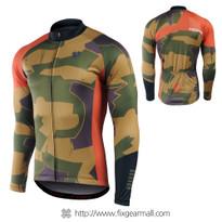 FIXGEAR CS-M201 Men's Long Sleeve Cycling Jersey
