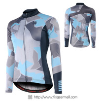 FIXGEAR CS-WM201 Women's Long Sleeve Cycling Jersey