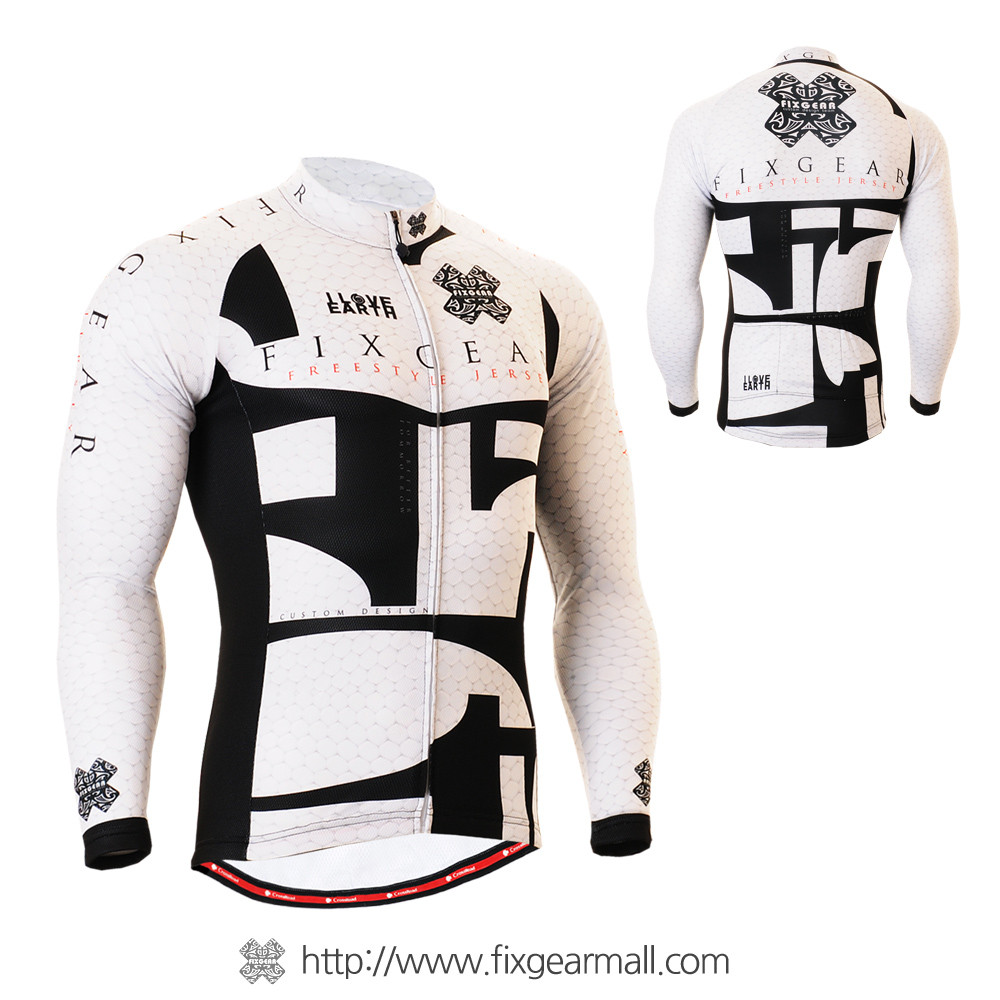 FIXGEAR CS-3401 Men s Cycling Jersey long sleeve 52893b8a1