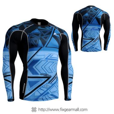 FIXGEAR CTR-B1 Compression Base Layer Long Sleeve Shirt