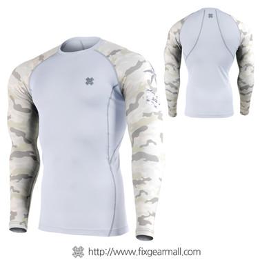 FIXGEAR CPD-WM1Y Compression Base Layer Long Sleeve Shirts