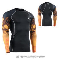 FIXGEAR CPD-B85 Compression Base Layer Long Sleeve Shirts