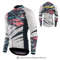 FIXGEAR CS-C101 Men's Long Sleeve Cycling Jersey