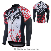 FIXGEAR CS-G801 Men's Long Sleeve Road Cycling Jersey