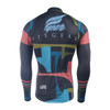 FIXGEAR CS-34K1 Men's Long Sleeve Road Cycling Jersey