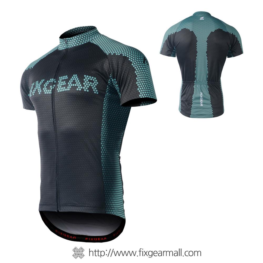 ca81d77c1de FIXGEAR CS-G1702 Men's Short Sleeve Road Cycling Jersey