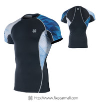 FIXGEAR C2S-B65 Compression Shirt Base Layer Short Sleeve