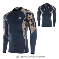 FIXGEAR C2L-B32 Compression Base Layer Long Sleeve Shirts