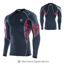 FIXGEAR C2L-B73 Compression Base Layer Long Sleeve Shirts