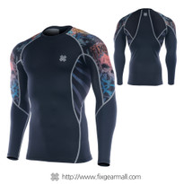 FIXGEAR C2L-B74 Compression Base Layer Long Sleeve Shirts