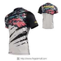 FIXGEAR RM-C1 Men's Casual short sleeve Crew-Neck T-shirt