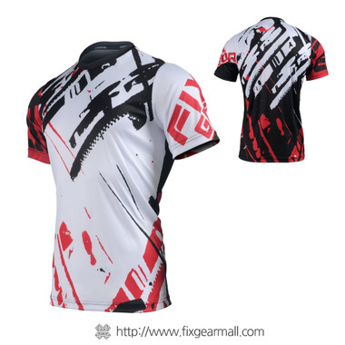 FIXGEAR RM-G8 Men's Casual short sleeve Crew-Neck T-shirt