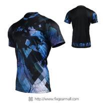 FIXGEAR RM-G14 Men's Casual short sleeve Crew-Neck T-shirt
