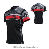 FIXGEAR RM-M5 Men's Casual short sleeve Crew-Neck T-shirt