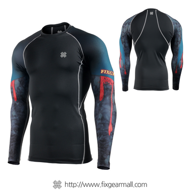 FIXGEAR CPD-B91 Compression Base Layer Long Sleeve Shirts