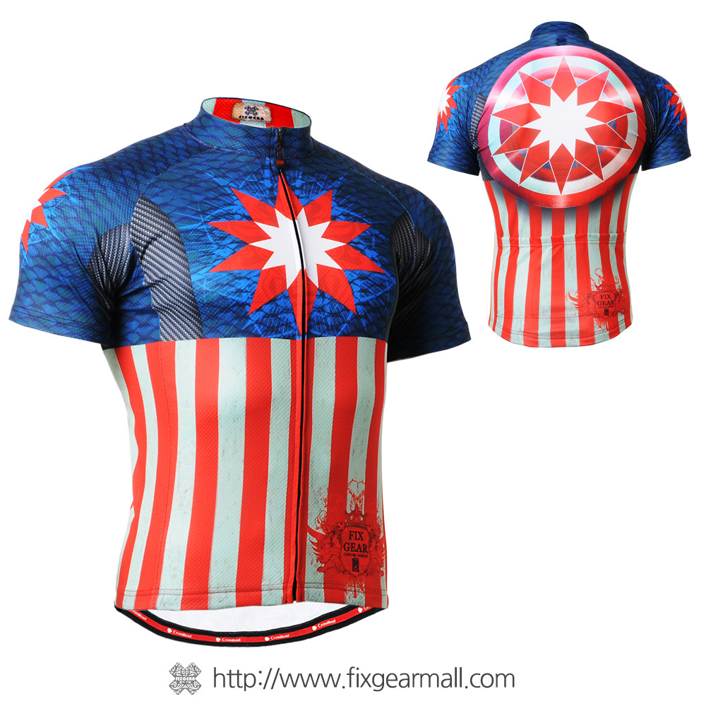... FIXGEAR CS-3702 Men s Cycling Jersey Short Sleeve. Loading zoom 90f545a22