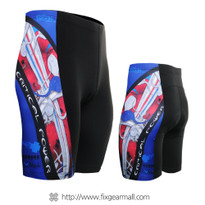FIXGEAR ST-19R Mens Cycling Padded Short Pants