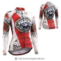 FIXGEAR CS-W501 Women's Long Sleeve Cycling Jersey
