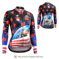 FIXGEAR CS-W1001 Women's Long Sleeve Cycling Jersey