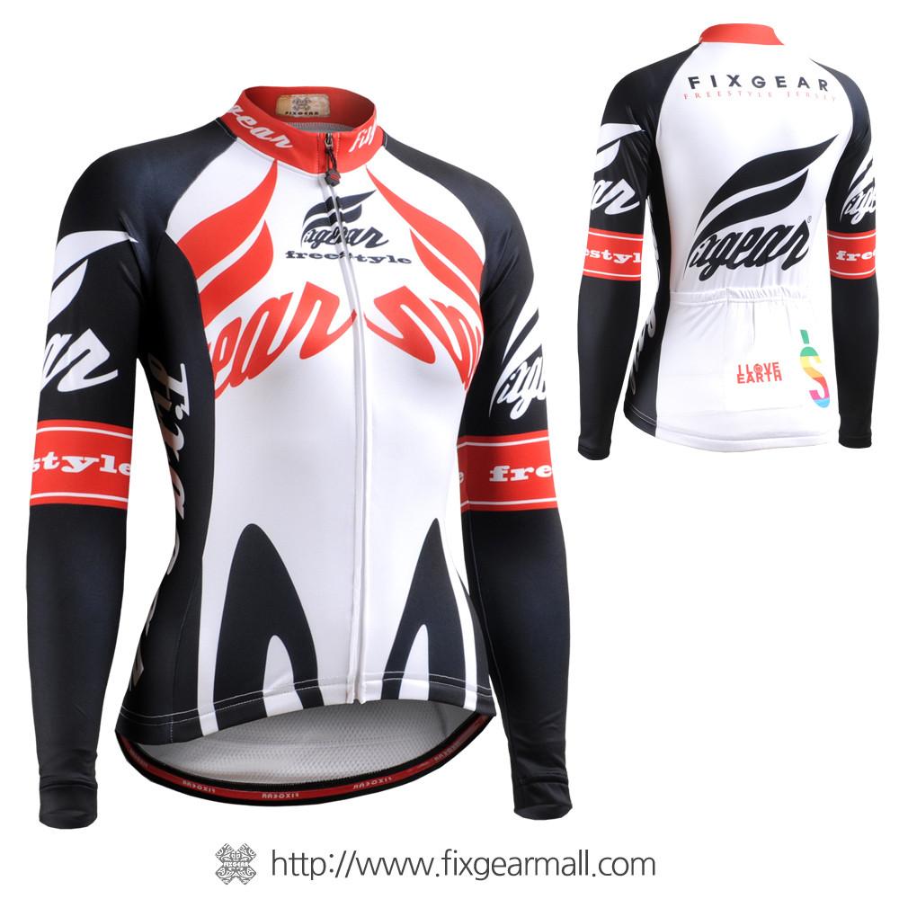 ... FIXGEAR CS-W1201 Women s Long Sleeve Cycling Jersey. Loading zoom eb280d795
