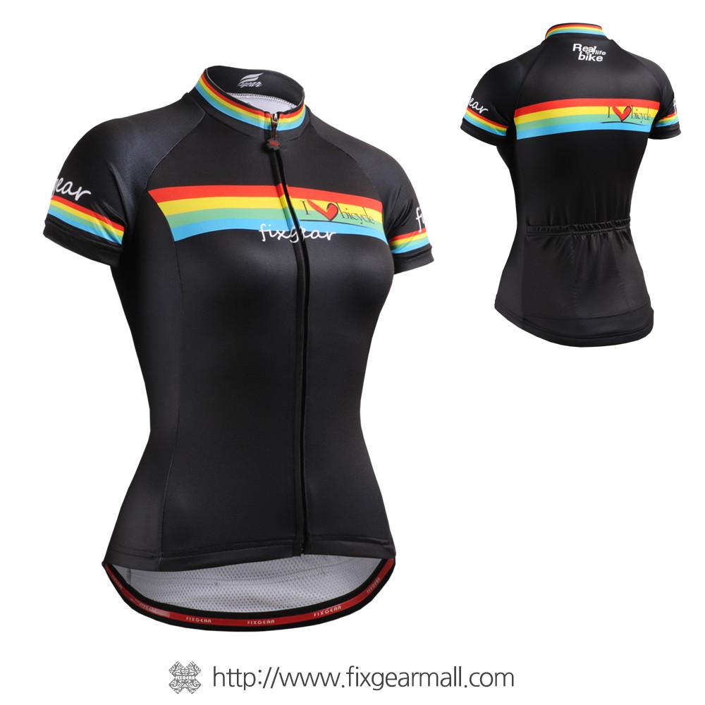 ... FIXGEAR CS-W202 Women s Short Sleeve Cycling Jersey. Loading zoom 45b307096