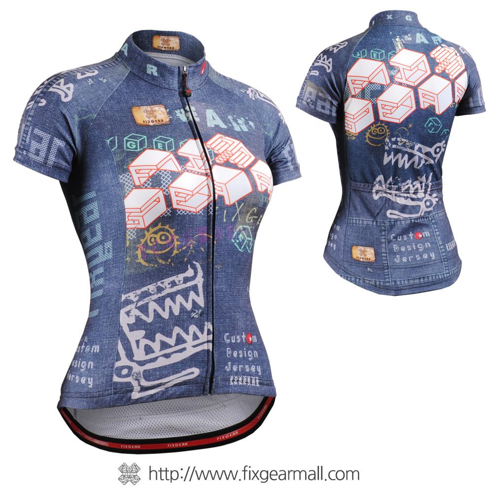 ... FIXGEAR CS-W1502 Women s Short Sleeve Cycling Jersey. Loading zoom 8a7305455