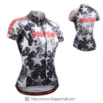 FIXGEAR CS-W2402 Women's Short Sleeve Cycling Jersey